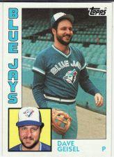 Buy 1984 Topps #256 - Dave Geisel - Blue Jays