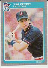 Buy 1985 Fleer #290 - Tim Teufel - Twins