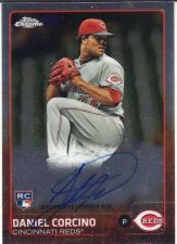 Buy 2015 Topps Chrome Rookie Autographs #AR-DC - Daniel Corcino