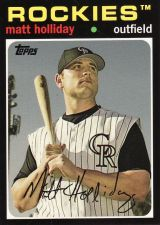 Buy 2008 Topps Trading Card History #THC55 - Matt Holliday - Rockies