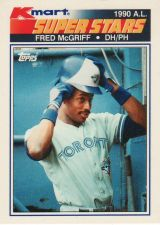 Buy 1990 K-Mart #31 - Fred McGriff - Blue Jays