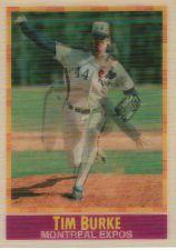 Buy 1990 Sportflics #199 - Tim Burke - Expos