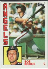 Buy 1984 Topps #520 - Bob Boone - Angels