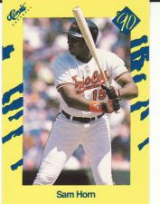 Buy 1990 Classic III #T28 - Sam Horn - Orioles