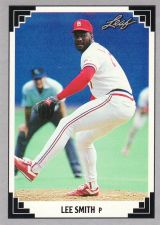 Buy 1991 Leaf #44 - Lee Smith - Cardinals