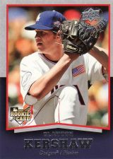 Buy 2008 Upper Deck Timeline #98 - Clayton Kershaw - Dodgers