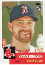 Buy 2016 Topps Archives #56 - Brian Johnson - Red Sox