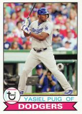 Buy 2016 Topps Archives #156 - Yasiel Puig - Dodgers
