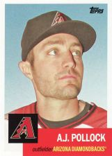 Buy 2016 Topps Archives #88 - A.J. Pollock - Diamondbacks