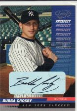 Buy 2005 Leaf Autographs #208 - Bubba Crosby - Yankees