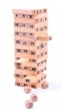 Buy 54pcs Mini Wooden Tower