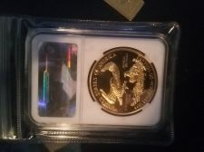 Buy $50 one ounce gold lady liberty coin PCGS CERTIFIED ms-65