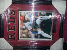 Buy AUTOGRAPHED Pete Rose matted framed photo with GFA certificate of authenticity