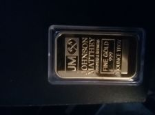 Buy One ounce gold bar Thomas matthey mint