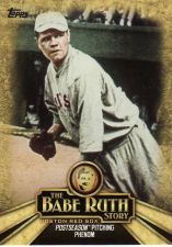 Buy 2015 Topps The Babe Ruth Story #BR-4 - Babe Ruth - Red Sox
