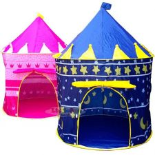 Buy Portable Folding Blue Prince/Pink Princess Castle Kids Play Tent
