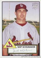 Buy 2006 Topps 52 Style #118 Skip Schumaker