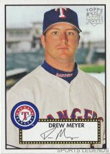 Buy 2006 Topps 52 Style #120 Drew Meyer