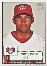 Buy 2006 Topps 52 Style #121 Melvin Dorta