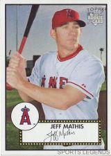 Buy 2006 Topps 52 Style #122 Jeff Mathis