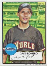 Buy 2006 Topps 52 Style #123 Davis Romero