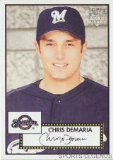 Buy 2006 Topps 52 Style #134 Chris Demaria