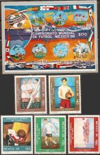 Buy Mexico: FIFA World Cup 1986 MNH 5-value Set & Souvenir Sheet