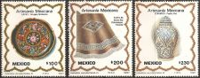 Buy Mexico: Arst and Crafts. MNH Complete 3-value Set