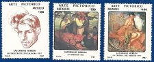 Buy Mexico: Saturnino Herran Paintings, MNH Complete 3-value Set
