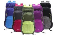 Buy 5 color outdoors hiking 40L large capacity folding backpack