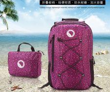 Buy 5 color folding waterproof outdoor travel mountaineering backpack
