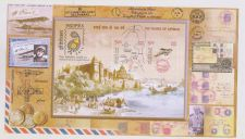 Buy INDIA MINIATURE SHEET 100 YEARS OF CIVIL AVIATION YR 2012 MINT NEVER HINGED