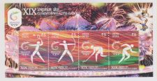 Buy INDIA M/S MINIATURE SHEET XIX COMMONWEALTH GAMES DELHI YEAR 2010 MNH MINT
