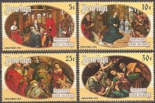 Buy Penhryn (No. Cook Islands):Christmas (1974) MNH Complete issue