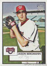 Buy 2006 Topps 52 Style #145 Jason Bergmann