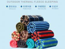 Buy Portable outdoor climbing camping trip fleece sleeping bag