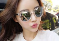 Buy Korean 2016 new retro round sunglasses