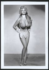 Buy BURLESQUE STRIPPER MARILYN MARQUIS BOSOMY BUSTY CLEAVAGE POSE 5X7 MM-1