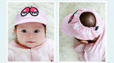 Buy Summer 0-6 months newborn baby cotton baseball cap