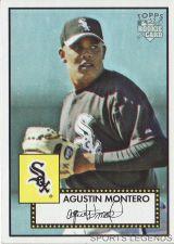 Buy 2006 Topps 52 Style #151 Agustin Montero