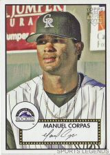 Buy 2006 Topps 52 Style #153 Manuel Corpas