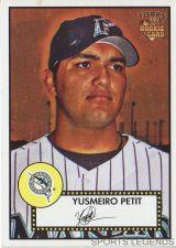 Buy 2006 Topps 52 Style #154 Yusmeiro Petit