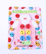 Buy Kids Sewing Training Board (Pink) - TOY