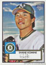 Buy 2006 Topps 52 Style #178 Shane Komine