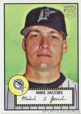 Buy 2006 Topps 52 Style #195 Mike Jacobs