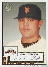 Buy 2006 Topps 52 Style #200 Chad Santos
