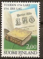 Buy Finland: Common Law of 1734 (1984), MNH Single