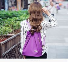 Buy Korean female mini anti theft travel rucksack
