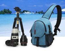 Buy Coress encryption waterproof camera SLR photography canvas messenger bag