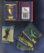 Buy Operation Yellow Ribbon Desert Storm Trading Card Box Set (1991)